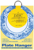 "For Plates Up To 6"" Diameter - Invisible Plate Hanger 2"""