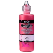 Metallics - Red - Tulip Dimensional Fabric Paint 4oz