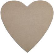 "Heart 10""X10"" - MDF Plaque"