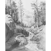 "Shadow Lake - Sketching Made Easy Kit 9""X12"""