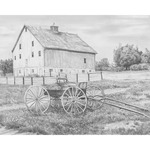 """Country Wagon - Sketching Made Easy Kit 9""""X12"""""""