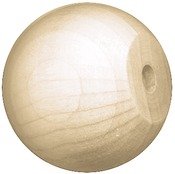 "Knob/Doll Head 1.5"" 7/Pkg - Wood Turning Shapes Value Pack"