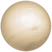 "Ball 1"" 16/Pkg - Wood Turning Shapes Value Pack"