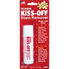 .7oz - Kiss-Off Stain Remover GENERAL PENCIL-Stain Remover.  Unique stick formula removes stains on-the-spot!  Removes: wet and dry paints, grease, make-up, blood, lipstick, baby spots, coffee, red wine, grass stains, pet stains, grass stains and more from: clothing, quilts/fabric, rubber stamps, autos, upholstery, shoes, sports gear, carpets, furniture, white boards, and many more!  Safe: no solvents to spill.  Conforms to ASTM D4236.  Made in USA.