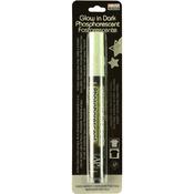 Green - DecoFabric Glow In The Dark Fabric Marker