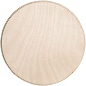 Baltic Birch Circle Plaque