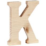 """K - Wood Letter 5"""""""