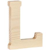 "L - Wood Letter 5"""