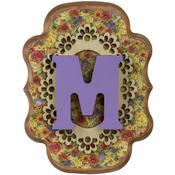 """M - Wood Letter 5"""""""
