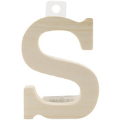 "S - Wood Letter 5"""