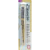 Gold Metallic Medium Point 5mm Pen - Touch Calligraphy Marker