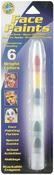 Bright - Face Paint Stackable Crayons 6/Pkg