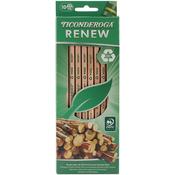 Natural - Ticonderoga Renew Recycled #2 Pencils 10/Pkg