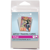 "Crescent Artist Trading Cards 2.5""X3.5"" 15/Pkg - Collage"