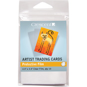"Protective Films - Crescent Artist Trading Cards 2.5""X3.5"" 10/Pkg"