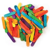 "Colored 1.5"" 120/Pkg - Mini Craft Sticks"