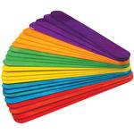 "Colored 7.875"" 24/Pkg - Extra Jumbo Craft Sticks"