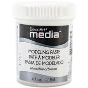 White - Media Modeling Paste 4oz