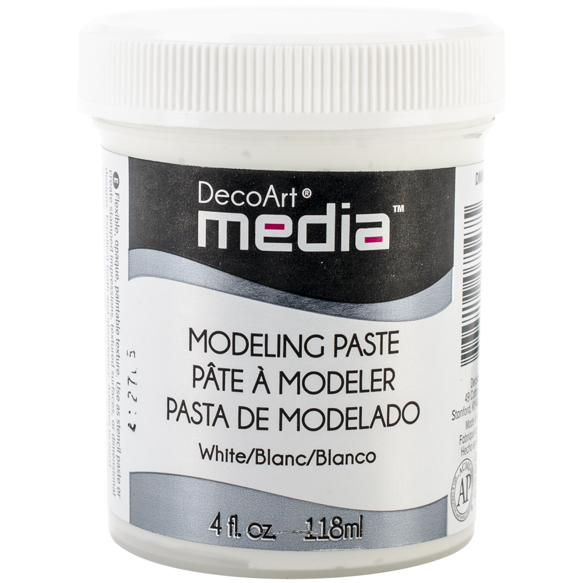 White - Media Modeling Paste 4oz