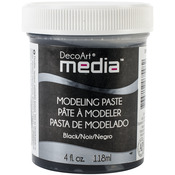 Black - Media Modeling Paste 4oz