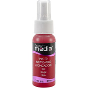 Red - Media Acrylic Mister 2oz