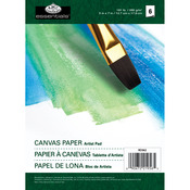 """8 Sheets - Essentials Canvas Artist Paper Pad 5""""X7"""""""