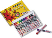 Cray-Pas Junior Artist Oil Pastels, 12/Pkg -
