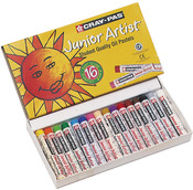 16/Pkg - Cray-Pas Junior Artist Oil Pastels