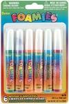 Bright Colors - Foamies Acrylic Paint Pens .34oz 6/Pkg