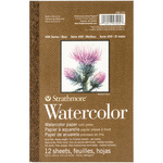 "Strathmore Watercolor Paper Pad 5.5""X8.5"""