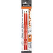 4B - Charcoal Pencils 2/Pkg