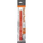 6B - Charcoal Pencils 2/Pkg