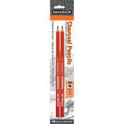 HB - Charcoal Pencils 2/Pkg