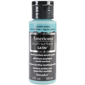 Coastal Waters - Americana Multi-Surface Satin Acrylic Paint 2oz