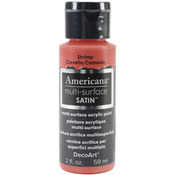 Shrimp - Americana Multi-Surface Satin Acrylic Paint 2oz