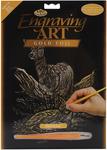 """Deer - Gold Foil Engraving Art Kit 8""""X10"""""""