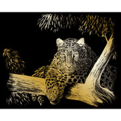 "Spotted - Gold Foil Engraving Art Kit 8""X10"""