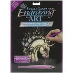 """Arabian Unicorn - Holographic Foil Engraving Art Kit 8""""X10"""""""