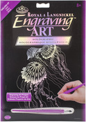 "Jellyfish - Holographic Foil Engraving Art Kit 8""X10"""