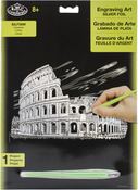 "Colosseum - Silver Foil Engraving Art Kit 8""X10"""