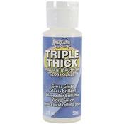 2oz - Triple Thick Brilliant Brush-On Gloss Glaze