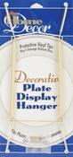 """Gold Tone - Decorative Plate Display Hanger Expandable 10"""" To 14"""""""
