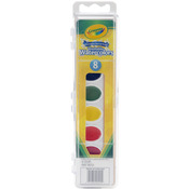 8 Colors - Crayola Washable Watercolors