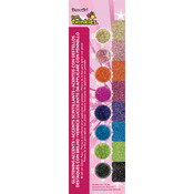 Glistening Accents - Americana Craft Twinkles Paint Pots 8/Pkg