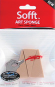 Wedge - PanPastel Sofft Art Sponges 3/Pkg