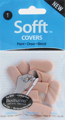 #1 Round - PanPastel Sofft Covers 10/Pkg