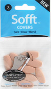 #3 Oval - PanPastel Sofft Covers 10/Pkg