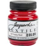 Ruby Red - Jacquard Textile Color Fabric Paint 2.25oz