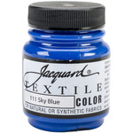 Sky Blue - Jacquard Textile Color Fabric Paint 2.25oz