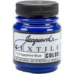 Sapphire Blue - Jacquard Textile Color Fabric Paint 2.25oz